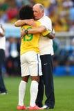 Luiz Felipe Scolari Coupe du Monde 2014 Fotos de Stock Royalty Free