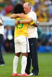 Luiz Felipe Scolari Coupe du Monde 2014 Royalty Free Stock Photos