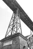 Luiz przerzucam most od Porto, Portugalia obrazy royalty free