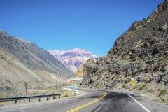 Lujan de Cuyo i Mendoza, Argentina Arkivfoto