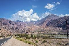 Lujan DE Cuyo in Mendoza, Argentinië Stock Fotografie