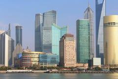 Lujiazui de Shanghai pudong Imagem de Stock