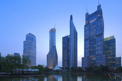 Lujiazui di Shanghai Pudong immagini stock libere da diritti
