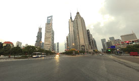 Lujiazui finance&Trade strefa miastowa architektura zdjęcia royalty free