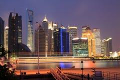 Lujiazui finance&Trade strefa przy Nowym zdjęcia stock