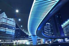 Lujiazui Finance & Trade Zone Urban Landscape. Shanghai Lujiazui Finance & Trade Zone modern city night background Stock Photos