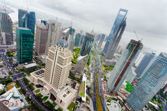 Lujiazui Financial Center Stock Images