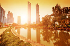 lujiazui financial centre Royalty Free Stock Images