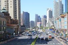 Lujiazui Pudong Shanghai royalty-vrije stock foto's