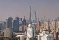 Lujiazui Pudong Shanghai Stock Afbeelding