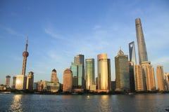 Lujiazui Pudong Szanghaj obrazy royalty free