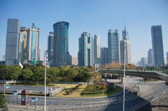 Lujiazui at Shanghai Royalty Free Stock Photography