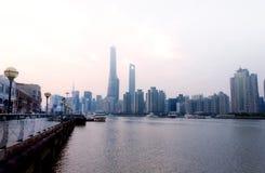 Lujiazui Shanghai China Stock Photos