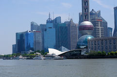 Lujiazui Skyline shanghai Stock Images