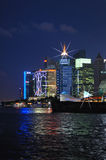 Lujiazui Skyline shanghai at Night Royalty Free Stock Images