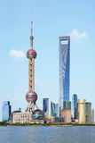 Lujiazui van Shanghai pudong royalty-vrije stock fotografie