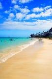 Lujo de la playa fotografía de archivo