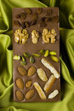 Lujo del chocolate Foto de archivo