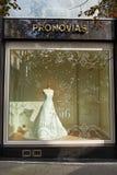 Lujo del vestido de boda Imagen de archivo libre de regalías