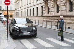 Lujo SUV de Bentley Bentayga Foto de archivo libre de regalías