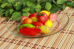 Luk Chup - Dessert Thailand Royalty Free Stock Image