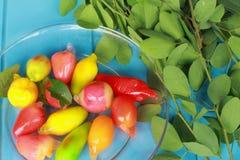 Luk Chup - Dessert Thailand Royalty Free Stock Photography