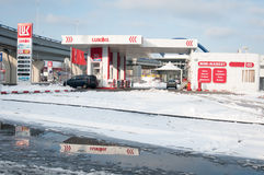 Luk Oil Mihai Bravu Stock Foto's