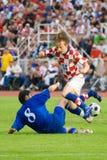 Luka Modric, calciatore Immagini Stock