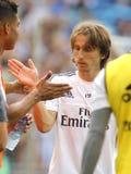 Luka Modric de Real Madrid Photo libre de droits