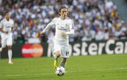 Luka Modric Final Champion League 2014 Stock Photo