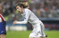 Luka Modric Final Champion League 2014 Royalty Free Stock Image