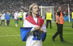 Luka Modric Final  Champion League 2014 Royalty Free Stock Images