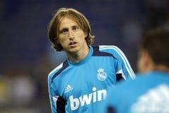 Luka Modric of Real Madrid Stock Image