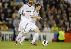Luka Modric of Real Madrid Royalty Free Stock Images