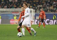 Luka Modric van Real Madrid Royalty-vrije Stock Foto