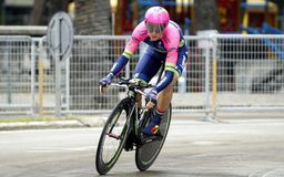 Luka Pibernik Team Lampre - Merida Royalty Free Stock Images