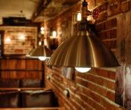 Luka w loft stylu we wnętrzu baru Obrazy Royalty Free