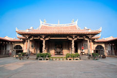 Lukang Longshan Temple. A historical Chinese style temple Stock Image