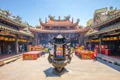 Lukang Mazu świątynia w Changhua, Taiwan obraz stock