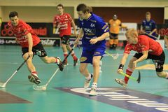 Lukas Hajek - floorball Stock Photos