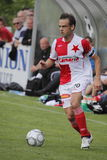 Lukas Jarolim playing for Slavia Prague Stock Images