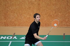 Lukas Klaciansky - Badminton Royalty Free Stock Images