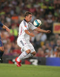 Lukas Podolski. Footballer Lukas Podolski during a friendly match between Bayern Munich and FC Barcelona at the Nou Camp Stadium on August 22, 2006 in Barcelona Royalty Free Stock Photography