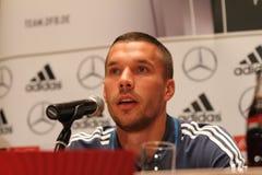 Lukas Podolski Foto de archivo