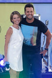 Luke Bryan, Amy Robach Royalty Free Stock Image
