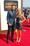 Luke Bryan and Caroline Boyer Stock Photo