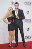 Luke Bryan e Caroline Boyer Imagens de Stock