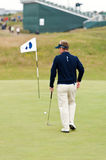 Luke Donald  British Open Sandwich 2011 Royalty Free Stock Images