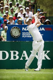 Luke Donald - 1st Tee Box Stock Photography