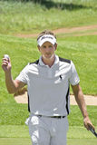 Luke Donald - Tossing the Ball Royalty Free Stock Photography